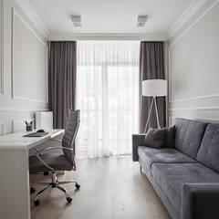 Glamour Life: styl , w kategorii Domowe biuro i gabinet zaprojektowany przez Perfect Space