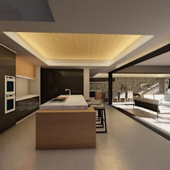 38 SAGILA:  Built-in kitchens by CA Architects,