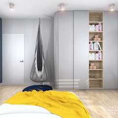 Pokój dziecięcy: styl , w kategorii Pokój dziecięcy zaprojektowany przez Projektowanie Wnętrz Online,