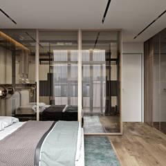 UI017: Спальни в . Автор – U-Style design studio