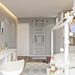 UI017: Детские комнаты в . Автор – U-Style design studio