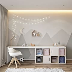 modern Nursery/kid's room by U-Style design studio