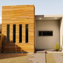 Maison passive de style  par steel