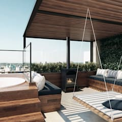 Terrace by Entreponto Arquitetura