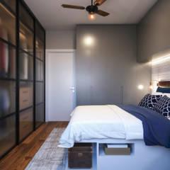 Apartamento 04: Quartos  por Entreponto Arquitetura