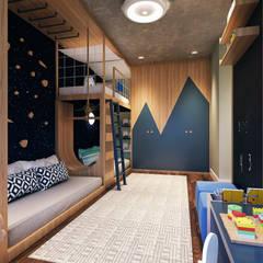 Phòng trẻ em by Entreponto Arquitetura