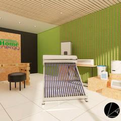 Home Energy : Oficinas y tiendas de estilo  por T+F Arquitectos
