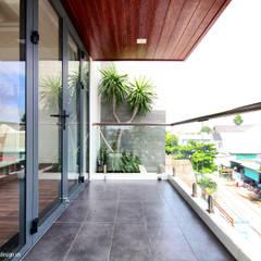 منزل عائلي صغير تنفيذ UK DESIGN STUDIO - KIẾN TRÚC UK
