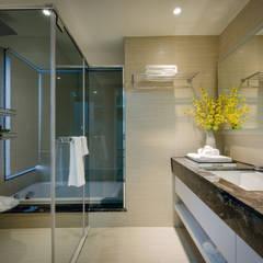 明日城:  浴室 by 星葉室內裝修有限公司