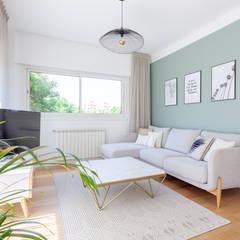 Aménagement et décoration du Séjour : Salon de style de style Moderne par GRAM Architecture