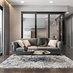 Living room by ICON INTERIOR, Modern