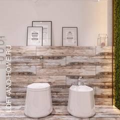 Bagno in stile in stile Industriale di Loft&Home