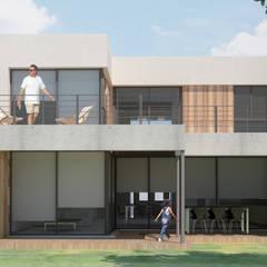 Casas de campo de estilo  por Dsg Arquitectura
