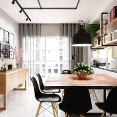 Phòng ăn by Fabíola Escobar - Pratique Arquitetura