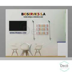 Exhibition centres by Decó ambientes a la medida