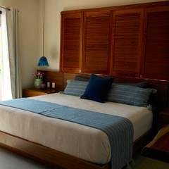 Habitación Principal: Recámaras de estilo  por Taller Veinte