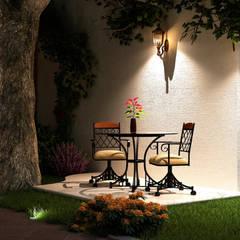 Front garden by TAR ARQUITECTOS