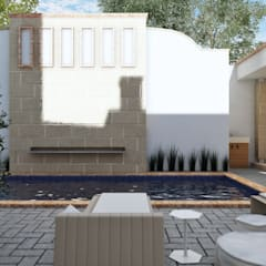 Pool by TAR ARQUITECTOS, Colonial