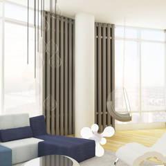 Grand Residence Salas de estilo ecléctico de Studio ARI Ecléctico