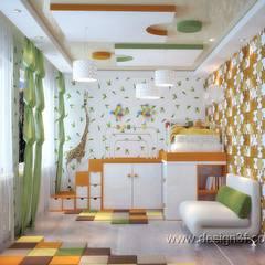eclectic Nursery/kid's room by студия Design3F