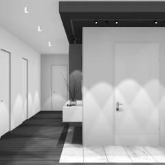 Przedpokój: styl , w kategorii Korytarz, przedpokój zaprojektowany przez 91m2 Architektura Wnętrz