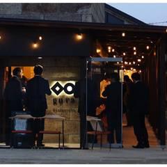 外観写真: アーキテクチュアランドスケープ一級建築士事務所が手掛けた商業空間です。