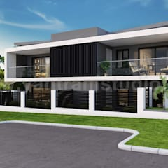 منزل سلبي تنفيذ Yantram Architectural Design Studio,