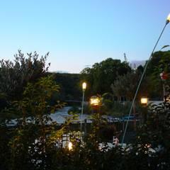 Terrasse des Ristorante Bella Vista Bad Kreuznach :  Bars & Clubs von Lichtlandschaften