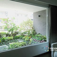 Teras oleh 大地工房景觀公司, Asia