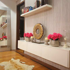 Masterbedroom: modern Bedroom by SNS Lush Designs and Home Decor Consultancy