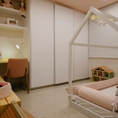 Girls Bedroom by PAR projetos