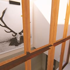 CASA ARBOLEDAS-MONTES DE OCA: Ventanas de estilo  por RUBIO + TOVAR ARQUITECTOS, Ecléctico
