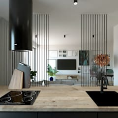 WUWA 2: styl , w kategorii Kuchnia na wymiar zaprojektowany przez OHlala Wnętrza