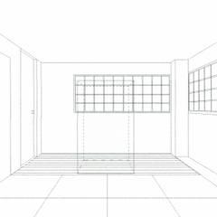 スケッチ:和室(仏間): 中浦建築事務所が手掛けた和のアイテムです。