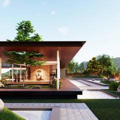 Casas asiáticas por Aeternite