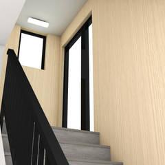 MARONIE HITZ : Scale in stile  di Studio Maiden