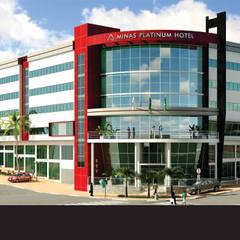 Minas Platinum Hotel e Convention : Hotéis  por CBC Engenharia