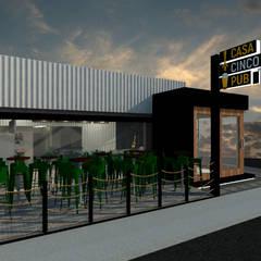 CASA CINCO PUB: Bares e clubes  por GABRIELA GUERREIRO | ARQUITETURA