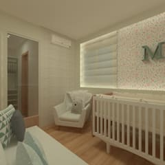 Baby room by GABRIELA GUERREIRO | ARQUITETURA, Eclectic