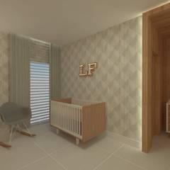 Babyzimmer von GABRIELA GUERREIRO | ARQUITETURA