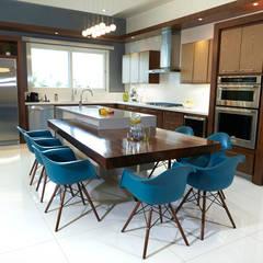 casa papiros: Cocinas de estilo  por arketipo-taller de arquitectura