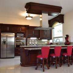 آشپزخانه توسطarketipo-taller de arquitectura, مدیترانه ای
