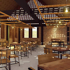 Kaaisungan Sibarrung:  Ruang Makan by Pr+ Architect