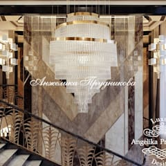 Stairs by Дизайн-студия элитных интерьеров Анжелики Прудниковой