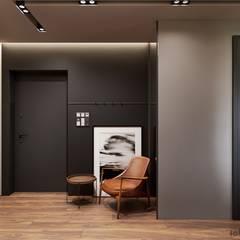Corridor & hallway by Tobi Architects