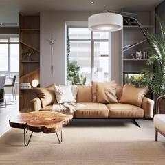 اتاق نشیمن توسطTobi Architects