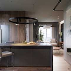 Kitchen units by Tobi Architects