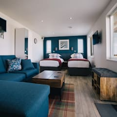 Article By the Garden Room Guide - Choose Offsite Construction:  Bedroom by Building With Frames