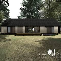 Projekty,  Dom rustykalny zaprojektowane przez casa rural