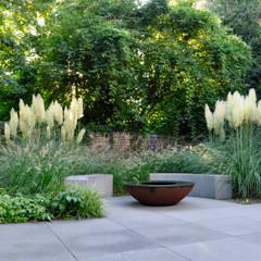 สวน by Terramanus Landschaftsarchitektur